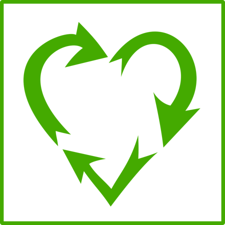 use low impact materials such as recyclable raw materials
